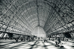 Hanger (melfoody) Tags: california nasa airship mountainview moffettfield ussmacon hanger1 ames75