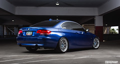 "BMW 335i E92 with 18"" ARC-8 wheels (ApexRaceParts) Tags: blue black race parts apex bmw hyper 18 montego arc8 e92 335i nonm"