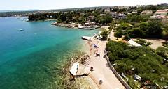 Beaches and clear sea, Vantacici, Malinska, Krk, Croatia-5 (yachtrent) Tags: sea summer beach boats island mediterranean croatia adriatic krk malinska