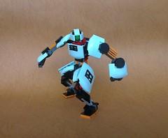 Red Neck 02 (JPascal) Tags: robot lego samurai mech