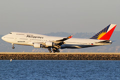 Philippines Airlines Boeing 747 RP-C7471 (Mark Harris photography) Tags: california canon sfo aircraft planes boeing spotting ksfo
