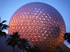 EPCOT Golf ball (Matt C68) Tags: epcot earth disneyworld spaceship walt
