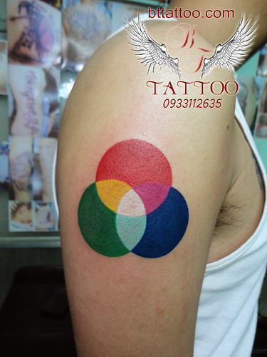 1000  images about CMYK & RGB Tattoo on Pinterest | Art