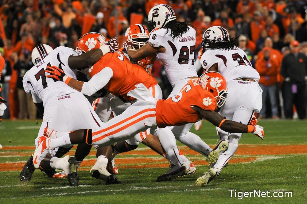 Clemson Photos: 2012, Football, Jonathan  Willard, South  Carolina