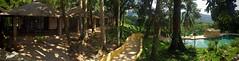 casa lakyum (karolajnat) Tags: mountain green azul mexico agua aqua pyramid palm jungle waterfalls ruinas palenque chiapas mayas misolha aquaazul