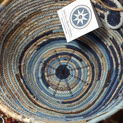 """There's something so wonderful about watching a custom basket take shape. It's magical to see your ideas come together in such a beautiful way! • <a style=""""font-size:0.8em;"""" href=""""http://www.flickr.com/photos/54958436@N05/15576627572/"""" target=""""_blank"""">View on Flickr</a>"""