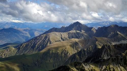 Le massif de l'Arbizon