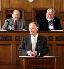 10-22-2014 Alabama's Silver-Haired Legislature Meets at the Capitol in Montgomery