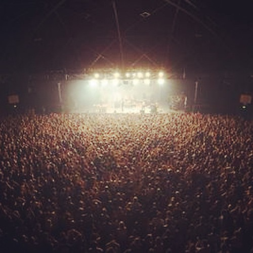 One of the great shots from the Aussie Tour - Hordern Pavillion, Sydney!