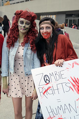 Toronto Zombie Walk 2014 #43 (jer1961) Tags: toronto halloween costume cosplay zombie horror macabre zombies zombiewalk torontozombiewalk zombiewalk2014 torontozombiewalk2014