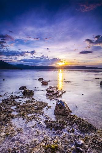 Sunset at Kepa Island