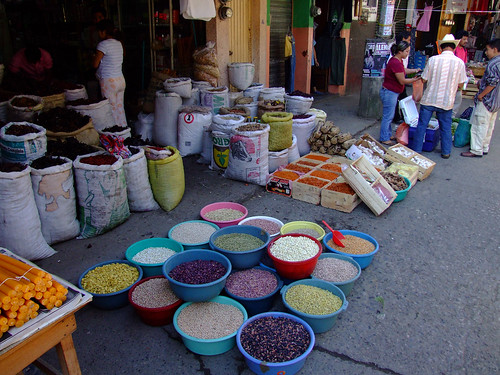 Mexiko - Markt in Xilitla