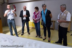 3-Discours du conseiller général (clubphotomjcrodez) Tags: photos exposition artisans peintures maquettes toiles élus officiels modèlesréduits onetlechateau costesrouges