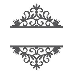 split-tulip-damask (emily dyer) Tags: silhouette svg papercut diecut