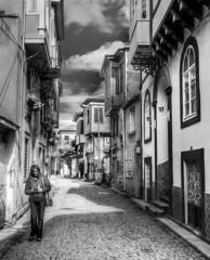 My love (Nejdet Duzen) Tags: street trip travel woman white black turkey trkiye beyaz oldhouses sokak turkei seyahat siyah ayvalk kadn eskievler