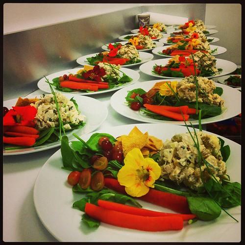 #michaelkors #luncheon #organic  #freerange #chickensalad by #amazingchef @raimundcooks