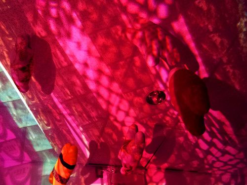 Overhead projector art for Snoozeland 2014