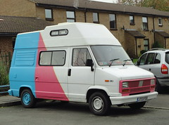 1991 FIAT DUCATO MOTORHOME (shagracer) Tags: home mobile automobile day fiat vehicle motor van camper motorhome vanagon dormobile dayvan ducato caravanette j733fgu