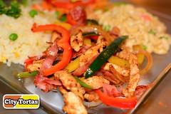 Fajitas pollo