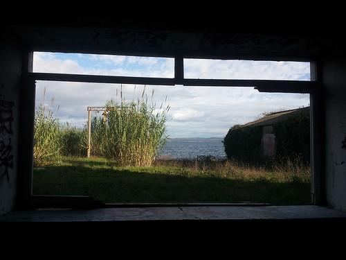 Notre fenêtre, au squat de Bacciano