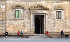 Palazzo Bartolini Salimbeni (sladkij11) Tags: people florence gente streetphotography olympus persone firenze em10