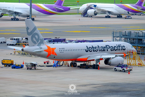 Flickriver most interesting photos from airline jetstar pacific airbus a320 232 vn a555 jetstar pacific airlines sciox Images