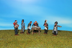 French Command at Waterloo (JJN Miniatures) Tags: french miniatures 28mm waterloo napoleon perry ney adc napoleonic hussar drouot soult gourgard