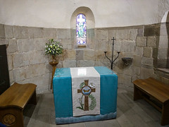 St Margaret's Chapel (melastmohican) Tags: nave castle uk building medieval church margaret brown royal stained religion saint surviving structure chapel romanesque holy wall stone scotland edinburgh st europe altar history architecture glass rectangular oldest art ornate unitedkingdom gb