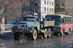 ZiL-131  К 695 КХ 45 (RUS) (zauralec) Tags: zil131 к 695 кх 45 rus kurgan street 1st may город курган улица автомобиль грузовик
