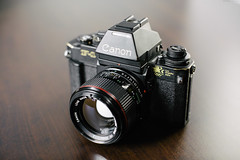 Canon New F-1 + 50L [01.19.2017] (Andrew H Wagner | AHWagner Photo) Tags: canon eos 5d3 50l 50mm f12 f12l 5dmk3 5dmkiii 5dmarkiii 5dmark3 f1n newf1 1984 olympics olympic limitededition laolympics laolympic 1984olympics losangeles laolympiclimitededition 35mm film canonnewf1 canonf1n camera filmcamera canonfd50l fd50l canonfd fd