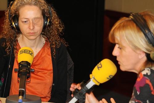 Esther Quintana i Gemma Nierga