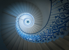 Twisted Tulips - London - Explored 9/3/17 (Christopher Pope Photography) Tags: christopherpopephotography wwwchristopherpopephotographycom chrispope greenwich staircase stairs spiralstairs abstract explore londo greenwichnavalcollege
