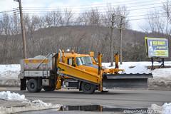 NYS DOT Mack GU712 Plow Truck (Trucks, Buses, & Trains by granitefan713) Tags: plowtruck snowplow dumptruck dualwing wingplow dot nysdot newyorkstate departmentoftransportation heavyduty sander salttruck snowremoval mack macktruck mackgranite granite gu712 mackgu712 singleaxle