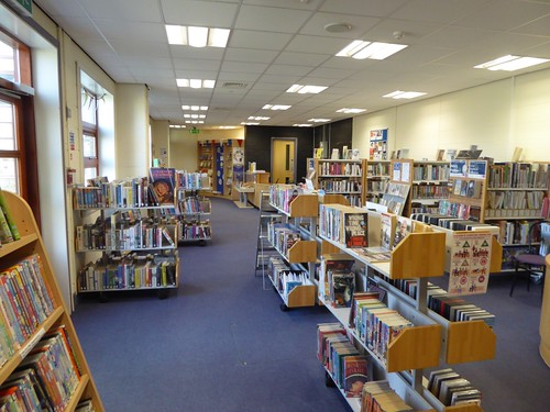 Inside Swan Valley library