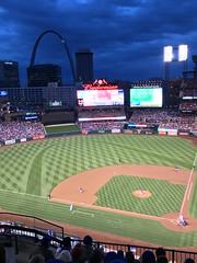 Chicago Cubs vs St. Louis Cardinals (TagDragon) Tags: saintlouis stlouis cards downtown cardinals baseball buschstadium busch chicago arcdetriomphe