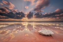 a pinch of salt (Paco Conesa) Tags: salt salinas lamata clouds long exposure canon poaco conesa torrevieja
