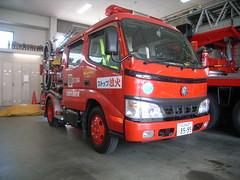 Toyota Hino Dutro Fire Truck (SDA007) Tags: naniwa なにわ