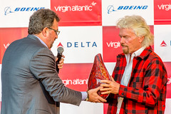 Port of Seattle welcomes Virgin Atlantic to Sea-Tac Airport (Port of Seattle) Tags: virginatlantic seattletacomainternationalairport seatacairport sea ksea seatac london seattle sirrichardbranson portofseattle virginatlanticairways heathrow uk