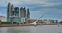 D52_DSC_6729zaB_Cfx (A. Neto) Tags: buenosaires d5200 nikon nikond5200 afsnikkor35mm118g color cityscape buildings bridge river riodelaplata argentina architecture water sky clouds