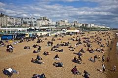 Brighton Beach (I M Roberts) Tags: brighton beachscene eastsussex promenade easter fujix100s