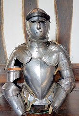 20170415_132417 (dkmcr) Tags: ruffordoldhall nationaltrust tudor heritage history lancashire daytrip attraction tourist rufford 15th april 2017 armour suit metal