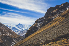 Way to Thorong La (Ali Sabbagh) Tags: himalayas nepal thorongla landscape nature wallpaper travel world canon eos7d