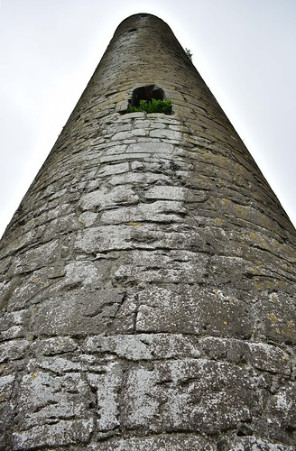 Rapunzel's tower of Kilmacduagh