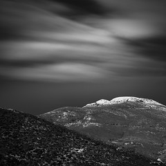 Penteli - Greece (Minas Stratigos) Tags: day beautiful clouds sky light mountains landscape adams ansel art fine athens penteli greece filters nd hitech formatt exposure long
