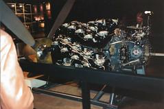 Long Beach - Spruce Goose - One of its engines - 1987 (AdinaZed) Tags: los angeles la long beach lb spruce goose howard hughes 1987 engine california ca