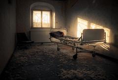 ...still waiting for a nurse... (-SebsTian-) Tags: old urbex shadow light licht schatten sun tamron 1750 sony a58