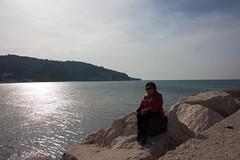 IMG_2050 (Antonio Todesco) Tags: mamma mom gargano pulia puglia calenella peschici mare spiaggia sea beach