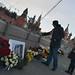 Memorial to opposition leader in Bolshoy Moskvoretsky Bridge