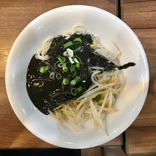 Black Sesame Seed Noodles