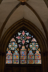 One of Many Windows (ggppix) Tags: stainedglass domstpeter regensburg bayern bavaria germany deutschland window cathedral